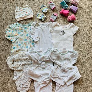 Other - 3/$30 All you need for newborn bundle (0-3M)-17pcs